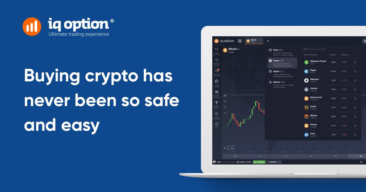 Incomincia subito a investire in bitcoin e avere successo con IQ Option